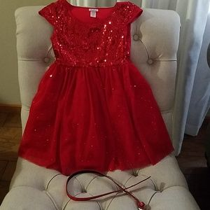 Justice Girl's Sequined Dress
